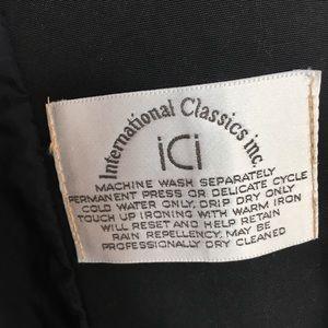ICI International Jackets & Coats - ICI International Classic Inc Beige Trench Coat